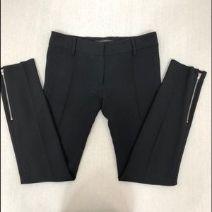 Balenciaga Skinny Black Dress Pants